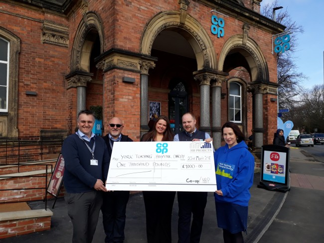 Clarence Street Co-Op donation