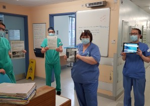 iPads for Covid patients