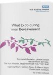 bereavement booklet pic york