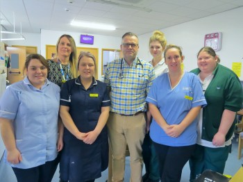 Home First Unit team at Scarborough Hospital