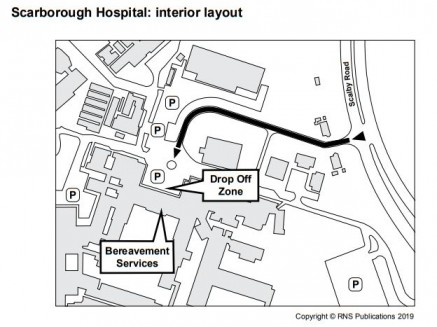 Scarbrough Hospital - find bereavement