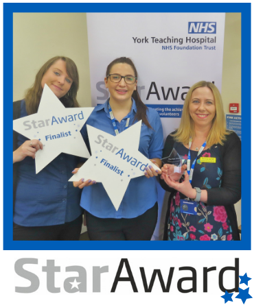 May Star Award - Scarborugh Outpatients