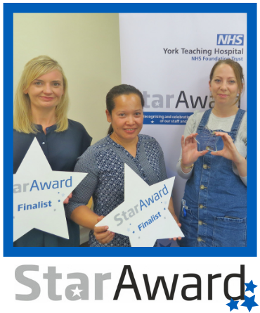 May Star Award - Scarborough PACU team