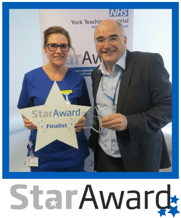 May Star Award - York Jo Bradley-Smith - Plaster technician