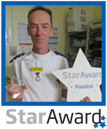 June 2019_Star Award_David Sneddon - Staff Nurse Coronary Car Unit - SGH