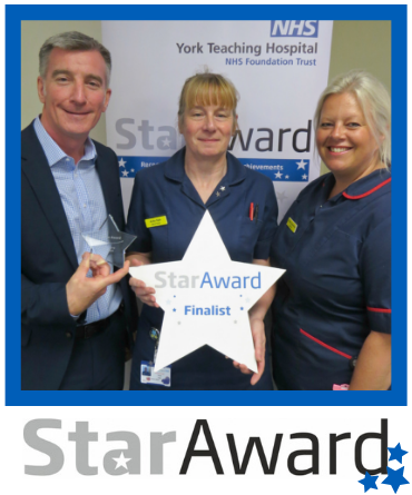August 2019_Star Award_Anita Ogle - Senior Sister Duke of Kent - SGH