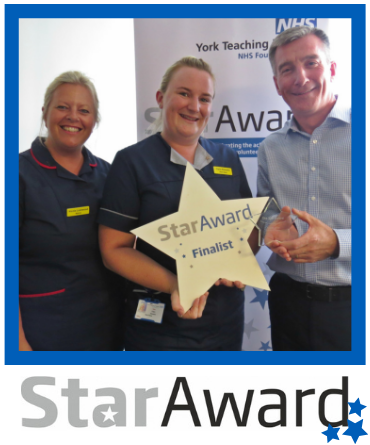 August 2019_Star Award_Claire Kilmartin Ward Sister - York