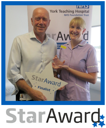 July 2019_Star Award_Julie Ackerley - specialist nurse - York