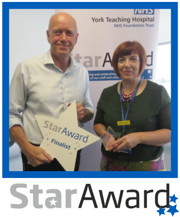 July 2019_Star Award_Judith Seagrave - specialist palliative care nurse - York