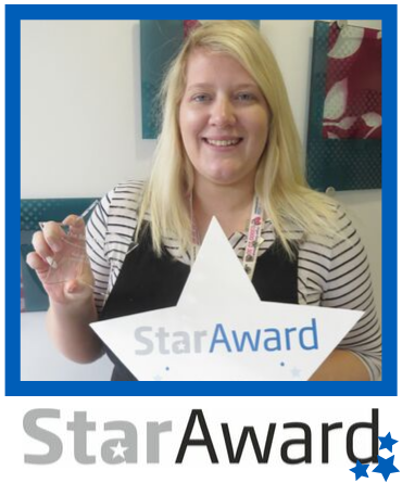 August 2019_Star Award_Leanne Covey_Berevement_York