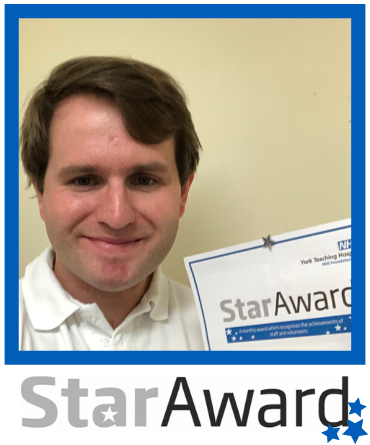 Star Award March 2020_Ben Richardson - framed