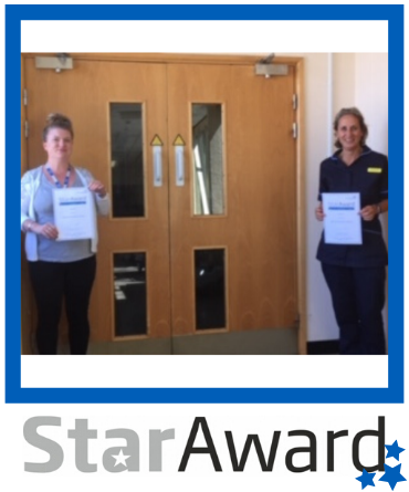 Star Award FRAMED_April 2020_Alison Price and Rebecca Houghton