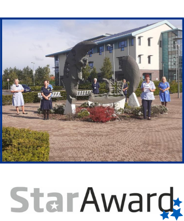 Framed Star Award_May 2020_Selby and South York Community Nursing team