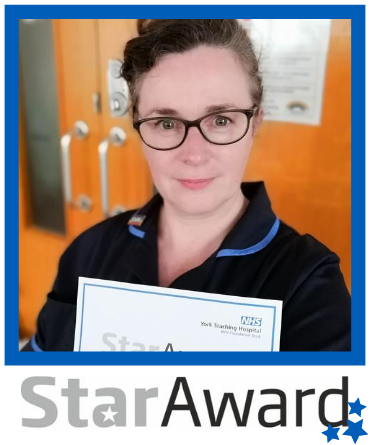 Star Award frame - June 2020 Hazel Kavanagh
