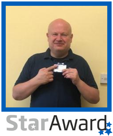 Star Award frame - June 2020 Richard Armitt