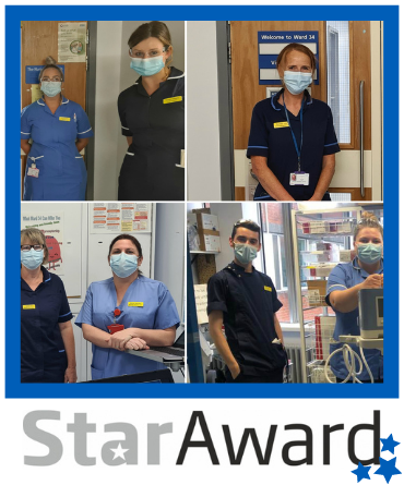 September 2020 star award finalist The Respiratory Outreach Team
