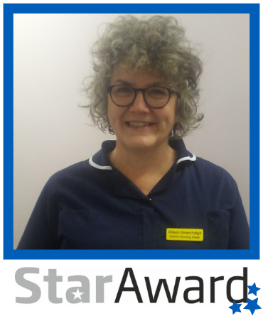 September 2020 star award finalist Alison Greenalgh
