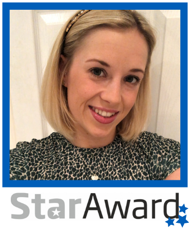 Star Award frame - Oct 2020 Hannah Garnett