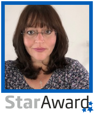 Star Award frame - Oct 2020 Jo Armstrong