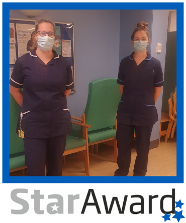 Star Award frame Alex Dexter and Nicola Lloyd Jones - Oct 2020