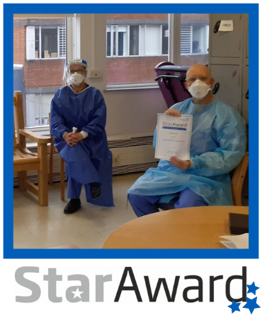 Star Award frame - Ward 29 Nov 2020