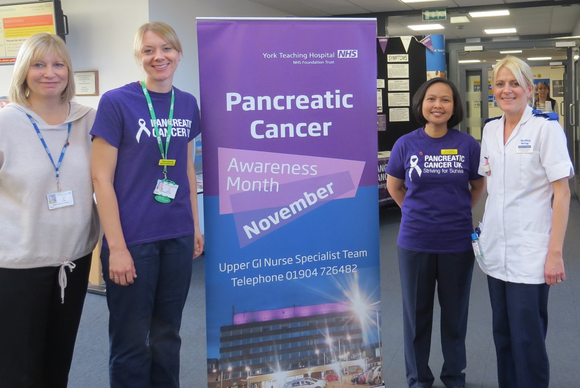 Pancreatic cancer foyer