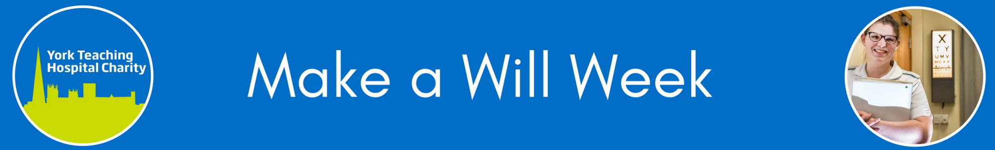 Make a Will week header