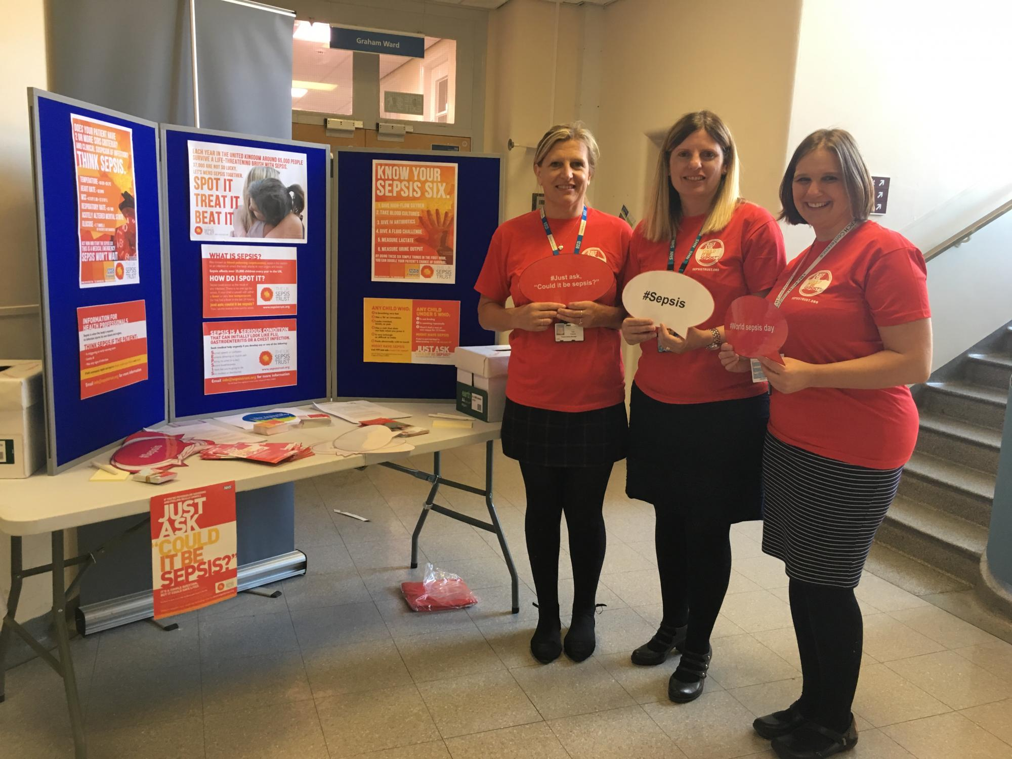 Sepsis Day 2018_Patient Safety Team at Scarborough